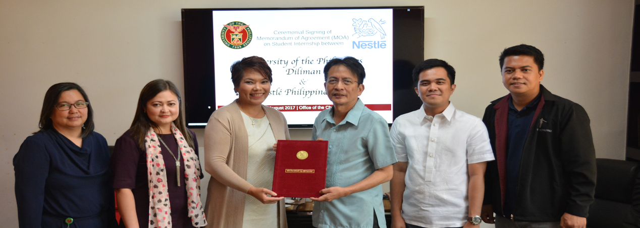 MOA Signing with Nestlé Philippines