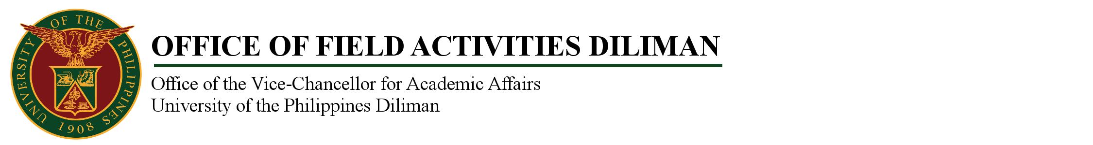 OFFICE OF FIELD ACTIVITIES